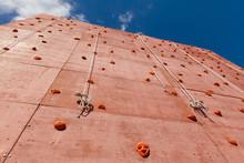 Outdoor Artificial Climbing Bouldering Wall In Adventure Park