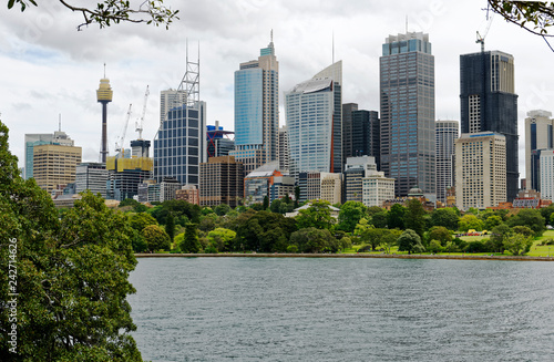 Photo  View of the central business district in Sydney, New South Wales, AustraliaSydne