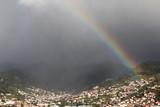 Fototapeta Tęcza - Tęcza nad Maderą