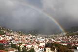 Fototapeta Rainbow - Tęcza nad Maderą