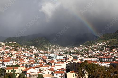 Tęcza nad Maderą