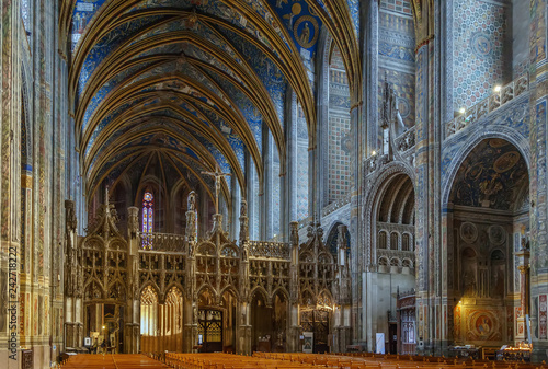 Albi Cathedral, France Canvas Print