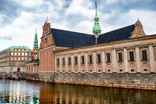 Copenhagen - city of towers Wallpaper Mural