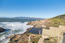 The Remains Of Sutro Baths In ...