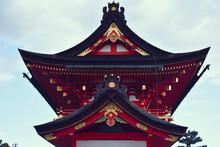 View Of Fushimi Inari Taisha Against Sky