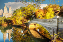 Bridge In Central Park In New ...