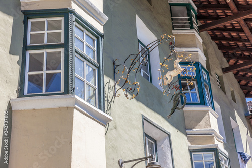 Foto  Historische Häuser in Klausen