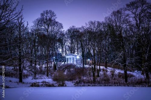 świątynia Sybilli W Parku łazienki Królewskie W Warszawie