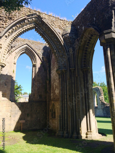Glastonbury Abbey Canvas Print