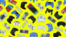 Video Game Controller Backgrou...