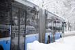 Öffentliche Verkehrsmittel, Bus im Winter