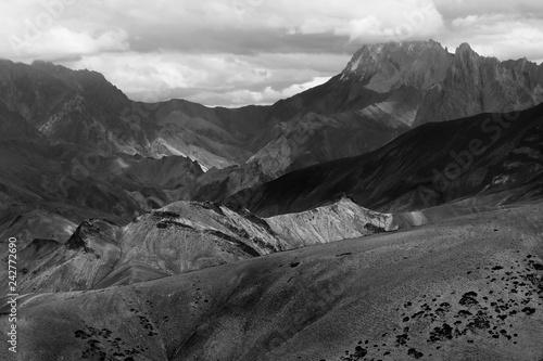 Fotografie, Obraz  Moonland, Ladakh, India