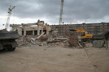 Demolition Of The Old Cinema