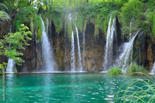 Fototapety, obrazy: Wasserfall Plitvicer Seen