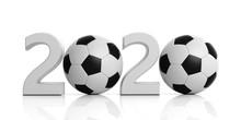 Soccer, Football. New Year 202...
