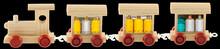 Petit Train Transportant Des Produits Dangereux, Fond Noir