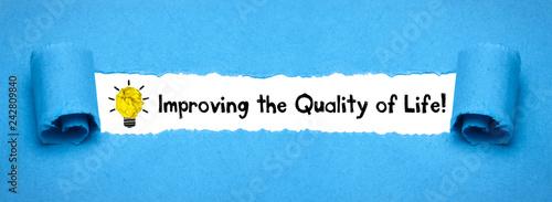 Fotografie, Obraz  Improving the Quality of Life!