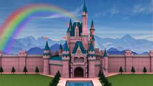Fantasy Fairy Tale Castle 3D I...
