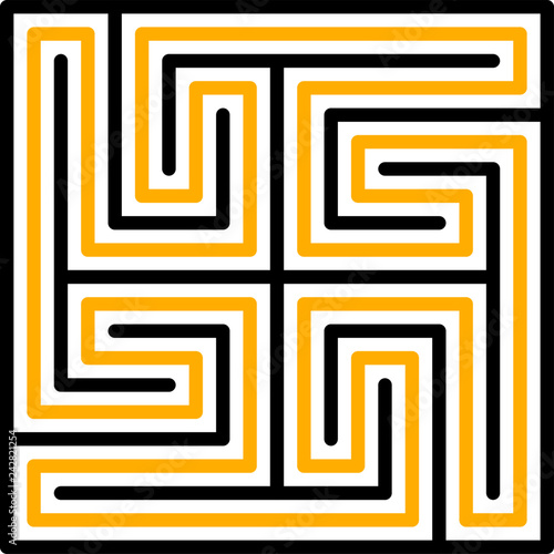 Photographie Maze 4, Babylon