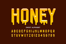 Liquid Sweet Honey Font