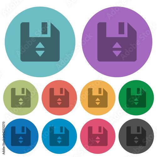 Fotografía  File position color darker flat icons