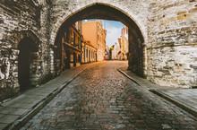 Tallinn Old Town Medieval Cobb...