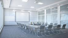 Conference Room Interior. 3d I...