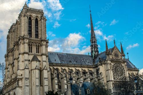 Fotografie, Obraz  Notre Dame Paris
