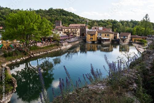 Fotografía  Veduta di Borghetto, Valeggio sul Mincio, Verona, Veneto, Italia