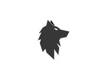 Wolf Head Logo Fox Design