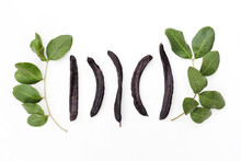Ripe Organic Carob Fruit Pods ...