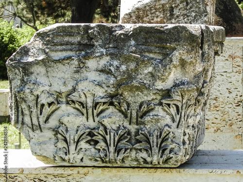 Fotografia  Ancient ruins in the city center of Constanta, Romania.