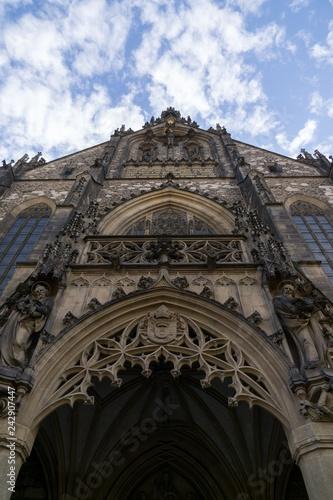 Fotografía  Brno, Czech Republic - Sep 12 2018: Cathedral of St