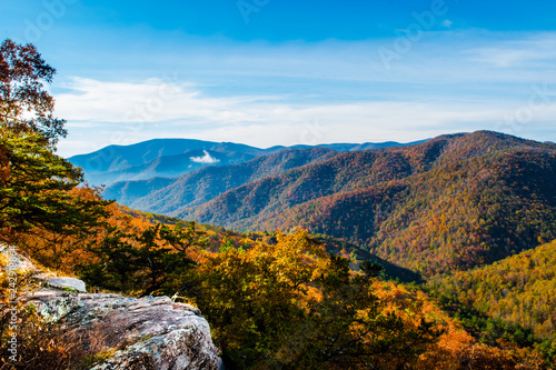 Valokuva  Scenic Blue Ridge Mountain Landscape