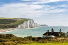 Landscape Of Seven Sisters Cliffs