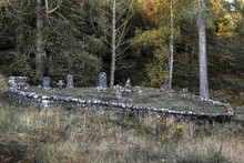 Old Graveyard With Graves Of S...