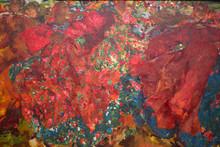 Moscow, Tretyakov Gallery, June 06, 20108. Fragment Of Painting By Artist Malyavina Fedor. Vortex