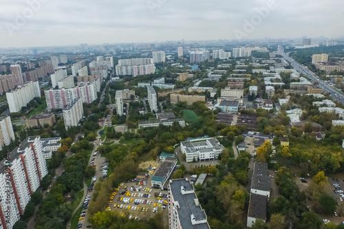 Foto op Aluminium Algerije Cityscape view from above