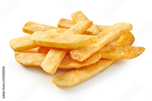 Foto Pile of fast food chips
