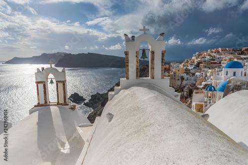 Fotografie, Obraz  VILLAGGI TRADIZIONALI GRECIA, OIA