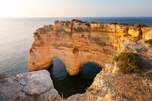 Heart Shaped Arch Rock In Alga...