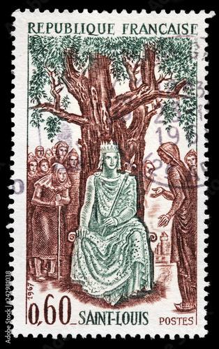 Fotografía King Louis IX Stamp
