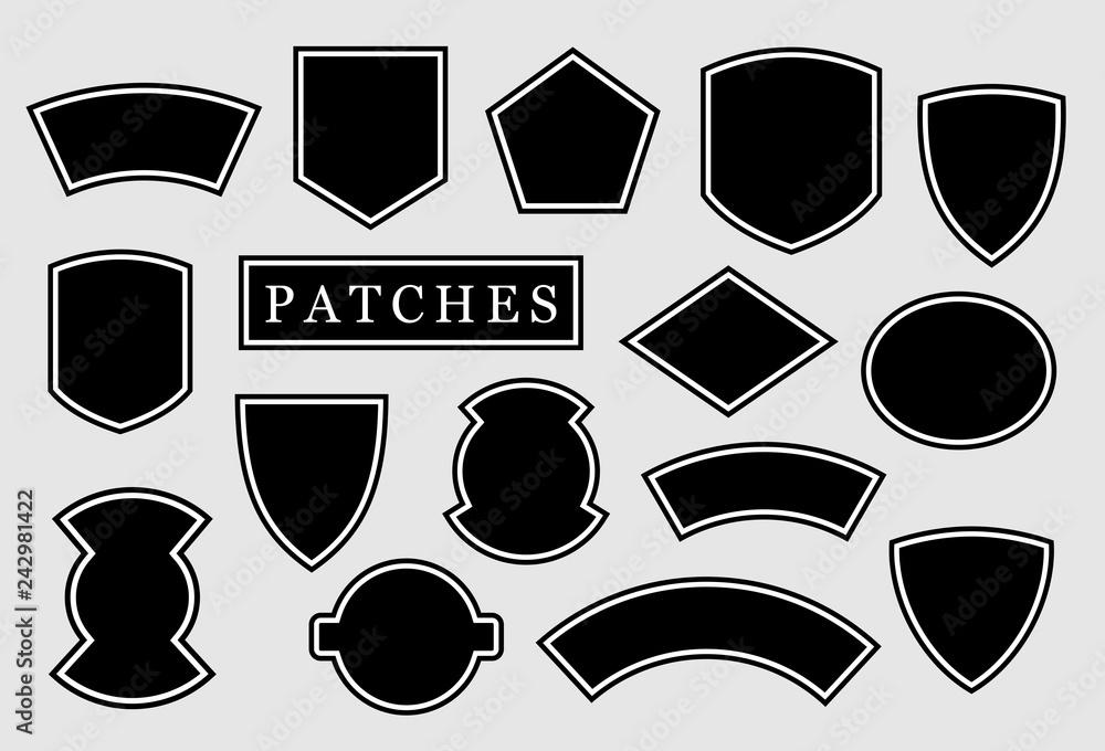 Fototapeta Military patch, biker patch