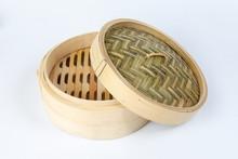 Wooden Bamboo Dim Sum Steamer ...