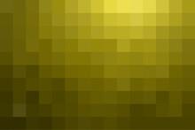 Olive Pixel Background. Vector...