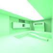 Leinwanddruck Bild - Abstract Architecture