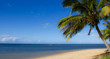 Paradiesicher Strand auf Kauai, Hawaii