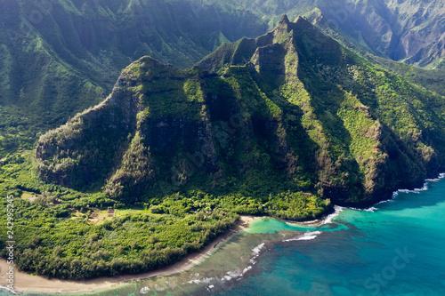 Fotografie, Tablou Napali Küste in Kauai Hawaii