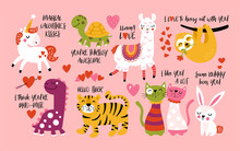 Valentine's Day Cute Animals S...