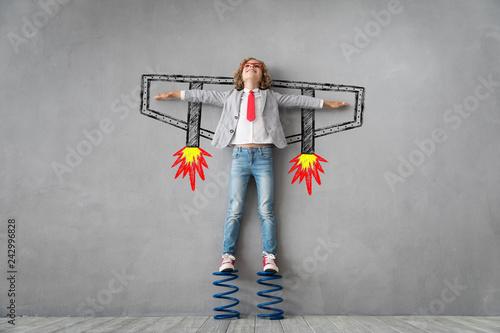 Obraz na plátně  Success, creative and idea concept